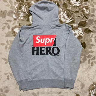 シュプリーム(Supreme)の14ss Supreme ANTIHERO パーカー hooded 20aw s(パーカー)