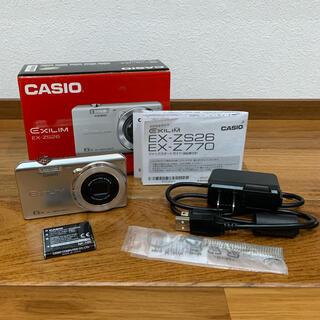カシオ(CASIO)のEXILIM EX-ZS26(コンパクトデジタルカメラ)