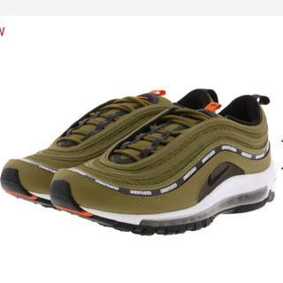 ナイキ(NIKE)のUNDEFEATED x NIKE AIR MAX 97 OLIVE 26.5(スニーカー)