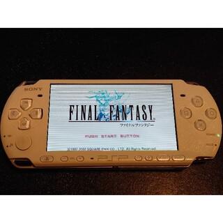 プレイステーションポータブル(PlayStation Portable)のプレイステーションポータブル  パールホワイト(携帯用ゲーム機本体)