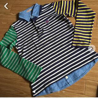 ダブルビー(DOUBLE.B)のキティさん様商談中 【ミキハウス 】重ね着風トップス 150(Tシャツ/カットソー)
