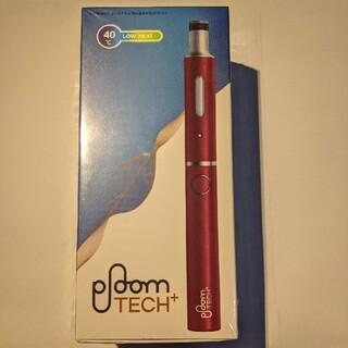 プルームテック(PloomTECH)のプルームテックプラス スターターキット リラックスワインレッド(タバコグッズ)