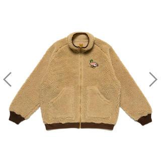 ジーディーシー(GDC)のHuman Made Fleece Jacket Duck Beige M(ブルゾン)