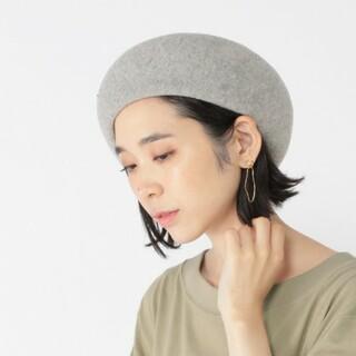 スタディオクリップ(STUDIO CLIP)の studio CLIP 洗える 形キープ ベレー帽(ハンチング/ベレー帽)