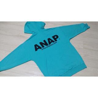 アナップ(ANAP)のANAP  BIGフード オーバーサイズ  パーカー(パーカー)