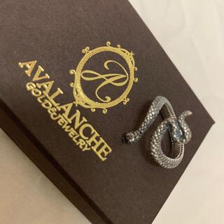 アヴァランチ(AVALANCHE)のアバランチ avalanche シルバー925 指輪 リング 蛇 9号 ピンキー(リング(指輪))