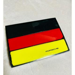 ポルシェ(Porsche)の《新品未使用》ポルシェ ノベルティ ハンカチセット(ノベルティグッズ)