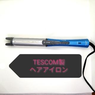 テスコム(TESCOM)のTESCOM マイナスイオンスチームアイロン  IPM300-A ブルー(ヘアアイロン)