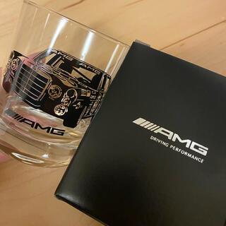 エーエムジーザダーケストニグ(AMG-THE DARKEST NIG)のAMGオリジナル ロックグラス 新品 メルセデス ベンツ(ノベルティグッズ)