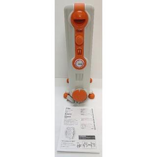 デロンギ(DeLonghi)のDe'Longhi HJ-0812 オレンジ(オイルヒーター)