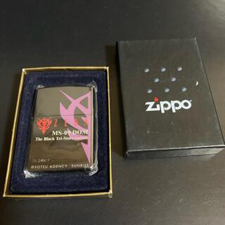ジッポー(ZIPPO)の【新品未使用】ZIPPOガンダム黒い三連星NO.1 ZEON MS-09 DOM(タバコグッズ)