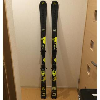 ヘッド(HEAD)のスキー板  HEAD  V-シェイプ  V8S  163cm(板)