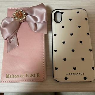メゾンドフルール(Maison de FLEUR)のiPhone X ケース(iPhoneケース)