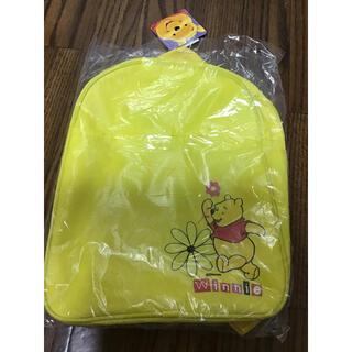 クマノプーサン(くまのプーさん)のディズニーくまのプーさんリュック黄色新品未使用バッグ(リュック/バックパック)