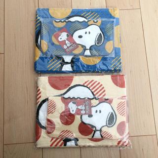 スヌーピー(SNOOPY)のスヌーピー タオルセット2枚組×2セット①(キャラクターグッズ)