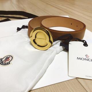 モンクレール(MONCLER)のMONCLER『希少 レア』 レザー ベルト男女兼用 ユニセックス(ベルト)