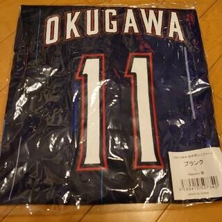 東京ヤクルトスワローズ - ヤクルトスワローズ Crewユニフォーム 背番号11 奥川選手 Mサイズ