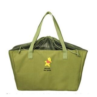 クマノプーサン(くまのプーさん)の「Winnie the Pooh(くまのプーさん)レジかごバッグ」(エコバッグ)