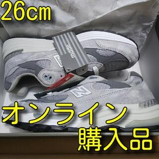 ニューバランス(New Balance)の26cm New Balance M992 GR グレー 復刻(スニーカー)
