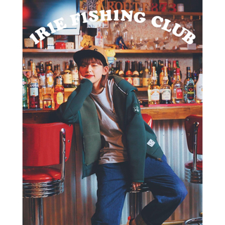 Irie fishing club ジップアップパーカー(ウエア)