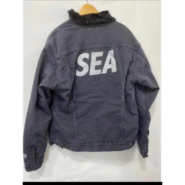 Supreme(シュプリーム)のwind and sea minedenim denim jacket XL メンズのジャケット/アウター(Gジャン/デニムジャケット)の商品写真