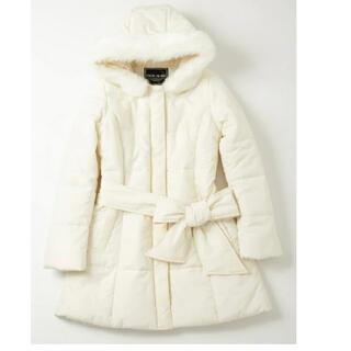 セシルマクビー(CECIL McBEE)のCECIL  ファー付き中綿コート(ダウンコート)