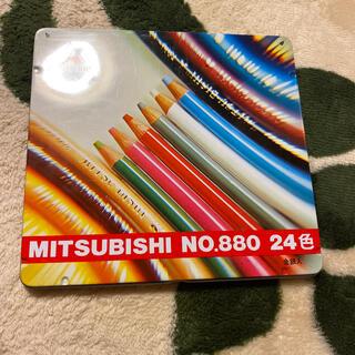 ミツビシ(三菱)の色鉛筆 24色(色鉛筆)