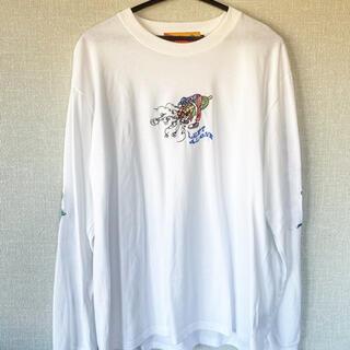 フリークスストア(FREAK'S STORE)の完売商品 LEFT ALONE レフトアローン  ロンT Lsize  タグ付き(Tシャツ/カットソー(七分/長袖))