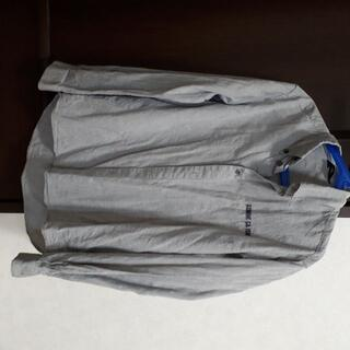 コムサイズム(COMME CA ISM)のひつじ様専用コムサイズム ブラウス カッターシャツ グレー 長袖 150 男の子(ブラウス)
