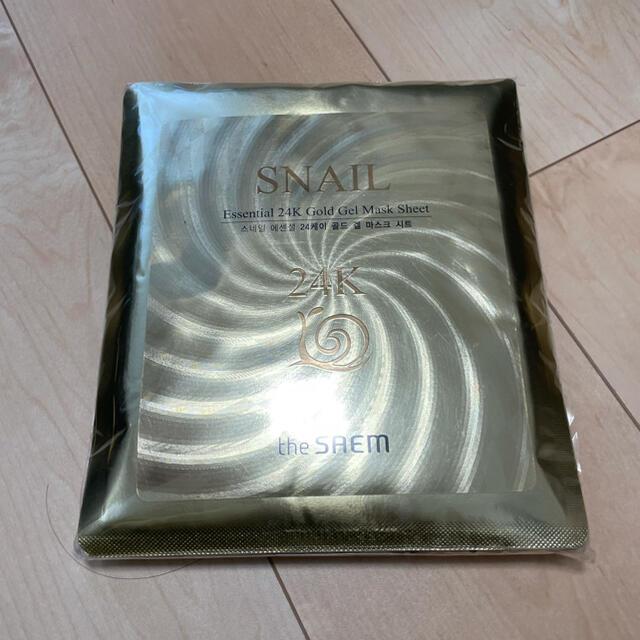 the saem(ザセム)のSNAIL パック 10枚セット コスメ/美容のスキンケア/基礎化粧品(パック/フェイスマスク)の商品写真