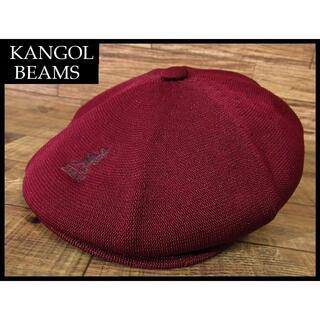 カンゴール(KANGOL)のるる様専用 極美品 カンゴール ビームス 別注 ハンチング キャスケット L(ハンチング/ベレー帽)