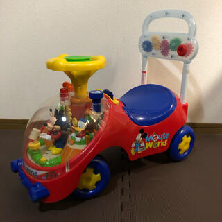 ディズニー(Disney)のミッキー 手押し車(手押し車/カタカタ)