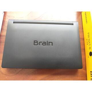 シャープ(SHARP)のシャープ 電子辞書 Brain PW-NA1-B 数回使用でほぼ新品(タブレット)