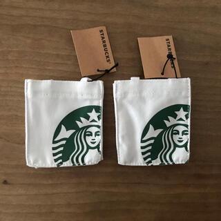 スターバックスコーヒー(Starbucks Coffee)のスタバ ミニバッグ 2つ(小物入れ)