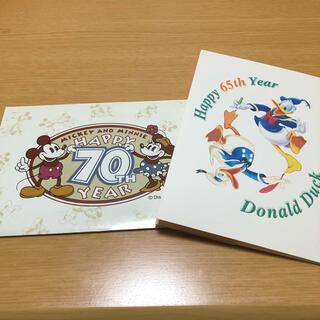 ディズニー(Disney)のディズニー ポストカード はがき 10枚セット ミッキーミニー ドナルド(使用済み切手/官製はがき)