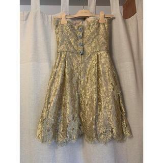 ドルチェアンドガッバーナ(DOLCE&GABBANA)のドルガバ ドレス(ミディアムドレス)