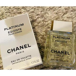 シャネル(CHANEL)のCHANEL EGOIST platinum 50ml(香水(男性用))
