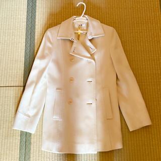 ニジュウサンク(23区)の23区の白色コート♡(ピーコート)