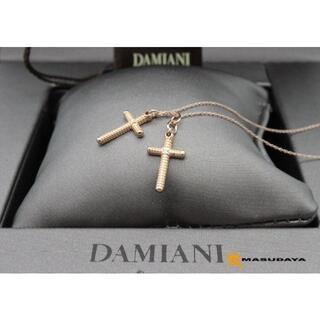 ダミアーニ(Damiani)のダミアーニメトロポリタンピンクゴールド2Pダイヤネックレス【超美品】(ネックレス)
