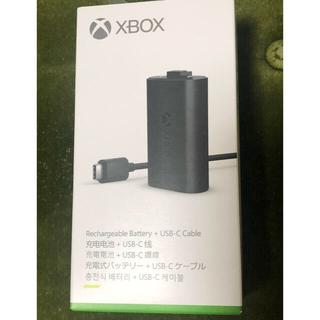 エックスボックス(Xbox)の【新品・送料込】Xbox 充電式バッテリー + USB-C ケーブル(家庭用ゲーム機本体)