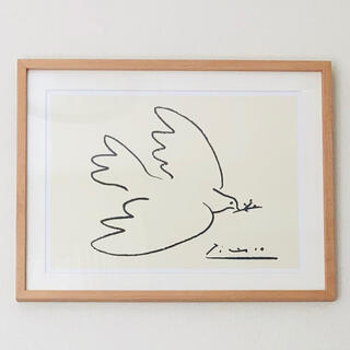 イデー(IDEE)のIDEE パブロ・ピカソ 「Dove of Peace」ポスター アート(絵画/タペストリー)