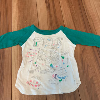 グルービーカラーズ(Groovy Colors)のグルービーカラーズ90 ラグランロングTシャツ(Tシャツ/カットソー)