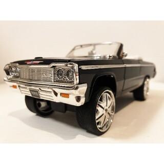 シボレー(Chevrolet)のJada/'64 Chevyシボレー Impalaインパラ DONK 1/24(ミニカー)