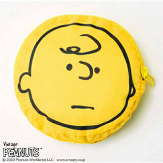 ピーナッツ(PEANUTS)のチャーリーブラウンエコバッグ mini (ミニ) 2021年 01月号 付録のみ(エコバッグ)
