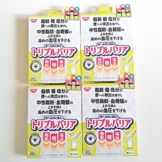 ニッシンショクヒン(日清食品)の日清 トリプルバリア 青りんご味 4箱(ダイエット食品)