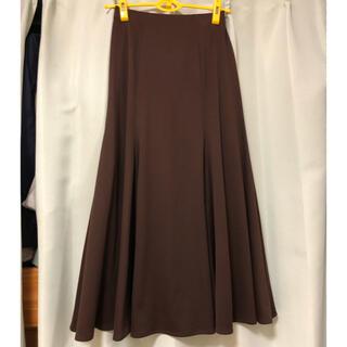 チャコット(CHACOTT)のチャコット社交ダンススカート ブラウン Mサイズ(ダンス/バレエ)