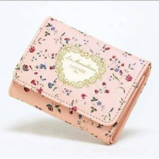 レメルヴェイユーズラデュレ(Les Merveilleuses LADUREE)のGLOW 12月号 【付録】 レ・メルヴェイユーズ ラデュレ 三つ折りミニ財布(財布)
