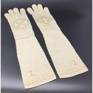 ルイヴィトン(LOUIS VUITTON)のLOUIS VUITTON☆手袋 グローブ ロング モノグラム LVロゴ(手袋)