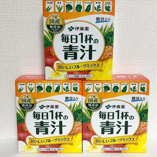 イトウエン(伊藤園)の伊藤園  毎日1杯の青汁   フルーツミックス 3箱(青汁/ケール加工食品)