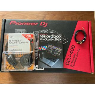パイオニア(Pioneer)の Pioneer DJ DDJ-400 ヘッドホン&教本セット(DJコントローラー)